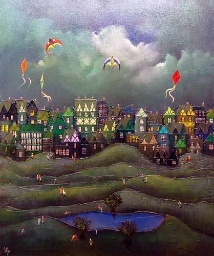 Flights of Fancy - Painting by Bill Tolley