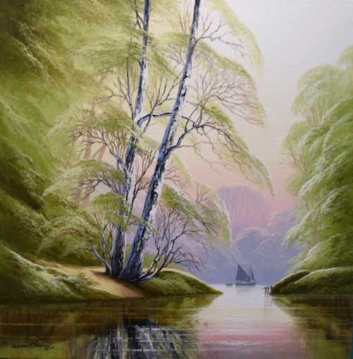 Tranquillity  - Painting by David James