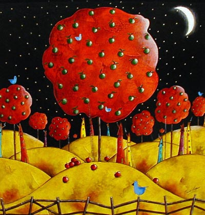 EC001 - Painting by Elaine Cooper