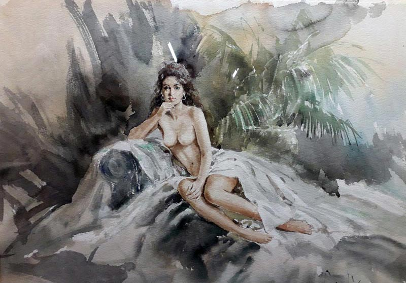 Original water colour by Gordon King