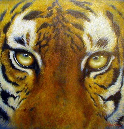 Tiger - Painting by Joel Kirk