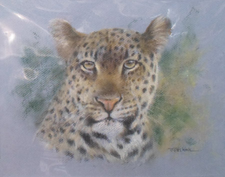 JK006 - Original pastel - Painting by Joel Kirk