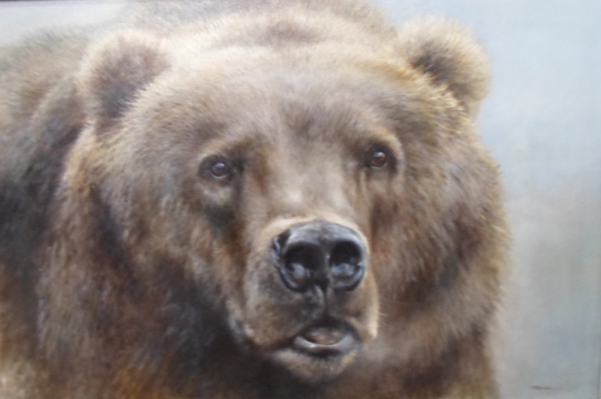 Bear - Painting by Joel Kirk