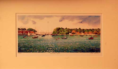 Brownsea Island - Painting by John Dimech