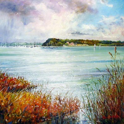 Original Brownsea Island - Painting by John Dimech