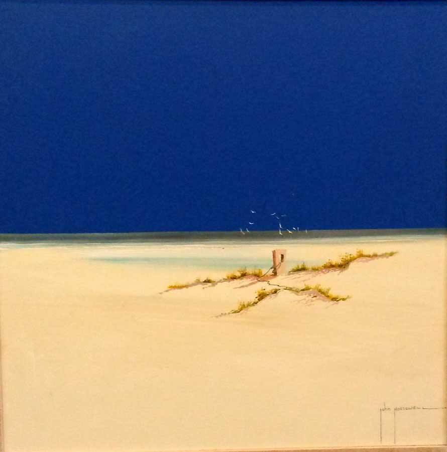 Lonely Sands - Painting by John Horsewell