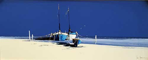 Azzurre Waters - Painting by John Horsewell