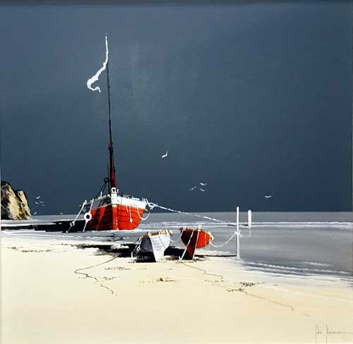 Rumble Sands - Painting by John Horsewell
