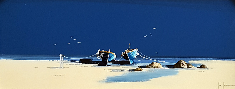 Blue Bayou - Painting by John Horsewell