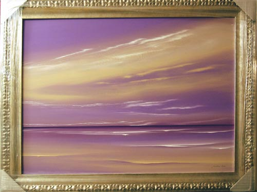 Seascape - Painting by Jonathan Shaw