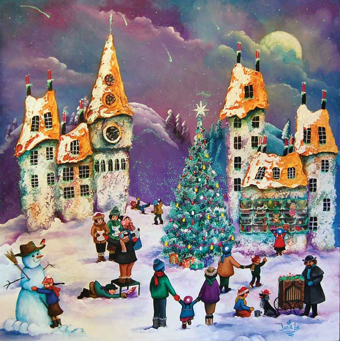 The Toy Shop - Painting by Josie Lee