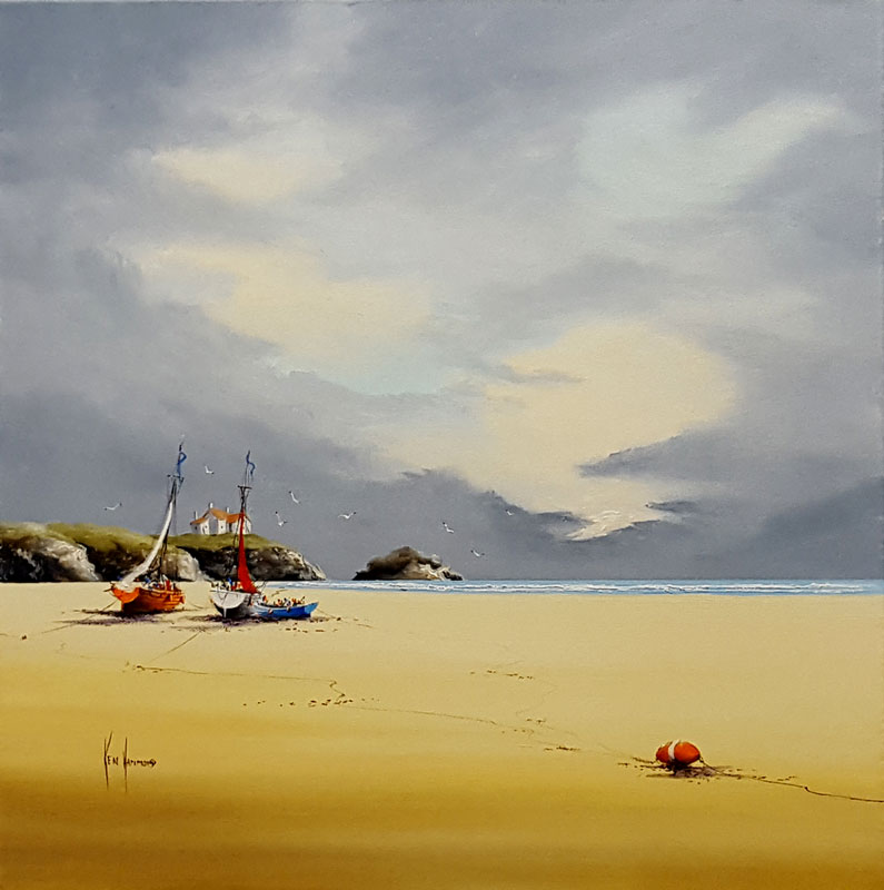 Golden Sands - Painting by Ken Hammond