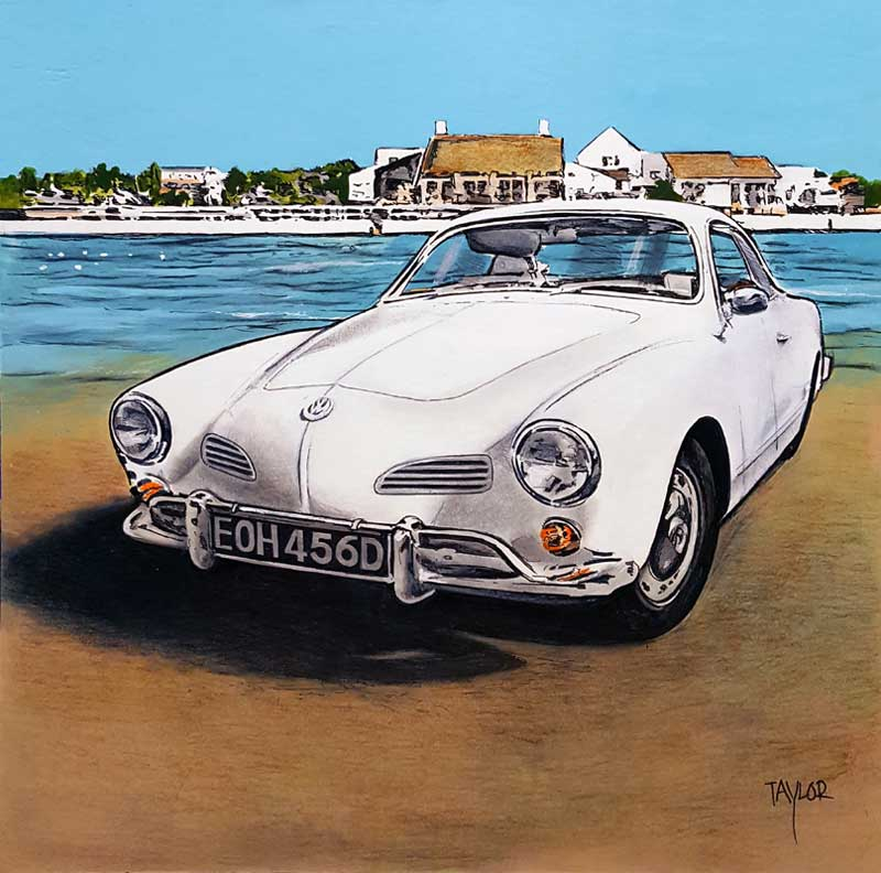 By the Sea - Painting by Martin Taylor