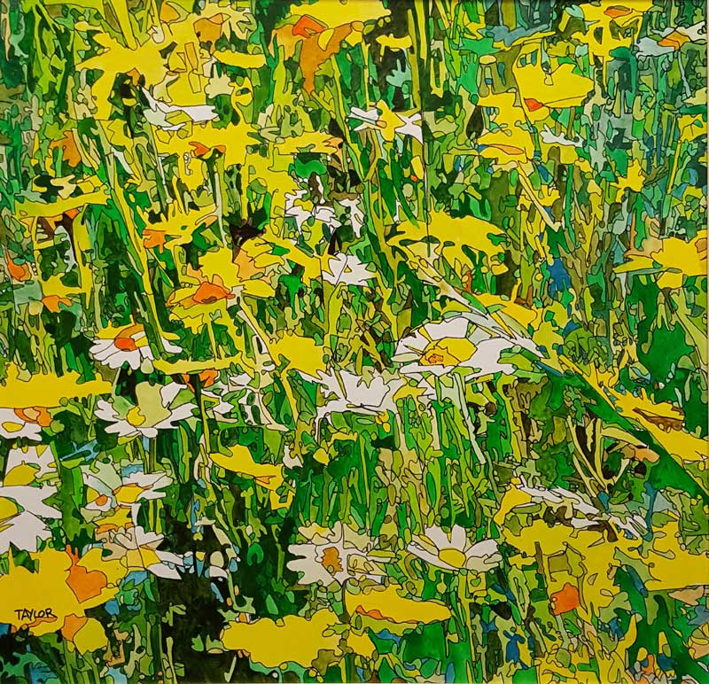 Mellow Yellow - Painting by Martin Taylor