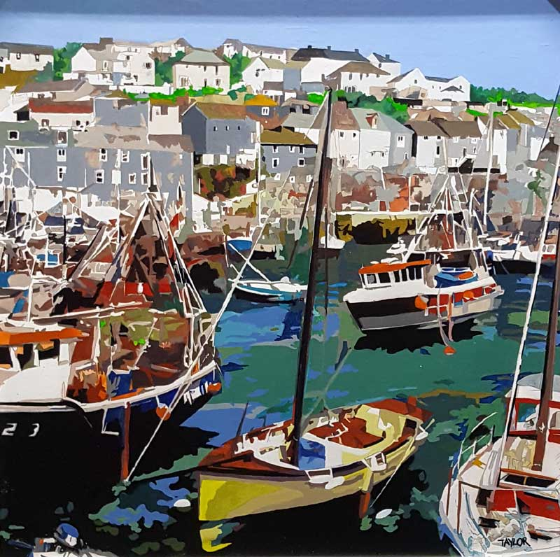 Mevagissey - Painting by Martin Taylor