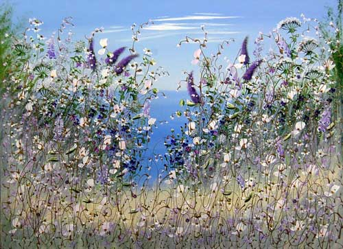 Lilac Song - Painting by Mary Shaw
