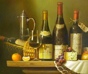 French Treasures - Painting by Raymond Campbell