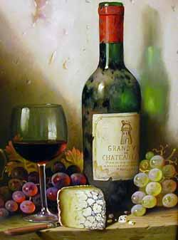 Latour 1959 - Painting by Raymond Campbell