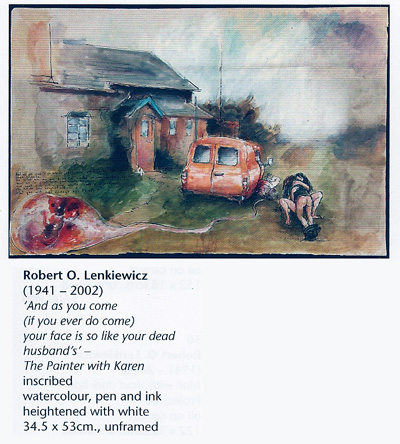 ROL026 - Painting by Robert Lenkiewicz