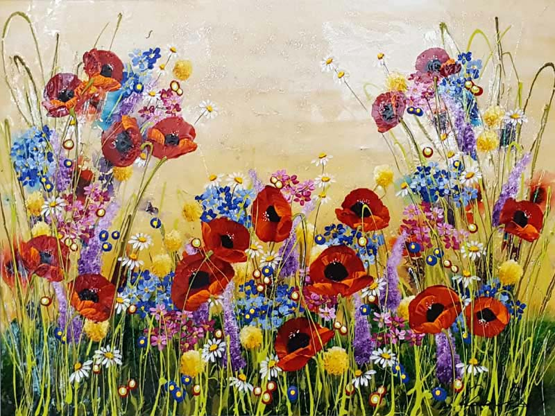 Summer's Best - Painting by Rozanne Bell