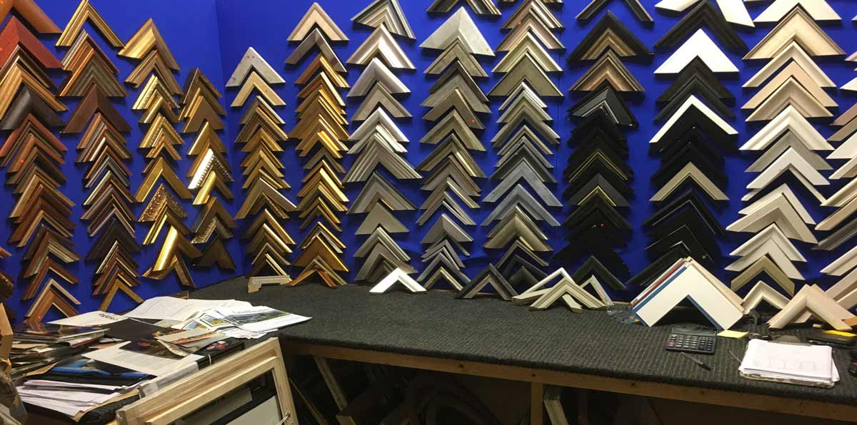 R.C. Arts, Poole - Bespoke and contract picture framing - retail or trade